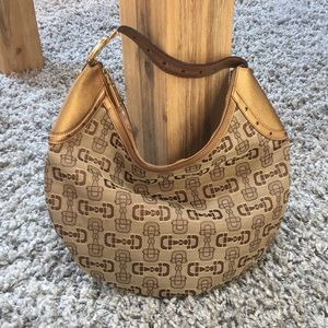 Gucci Handbag Brown & Gold
